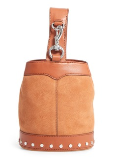 Rebecca Minkoff Mini Mission Leather Bucket Bag
