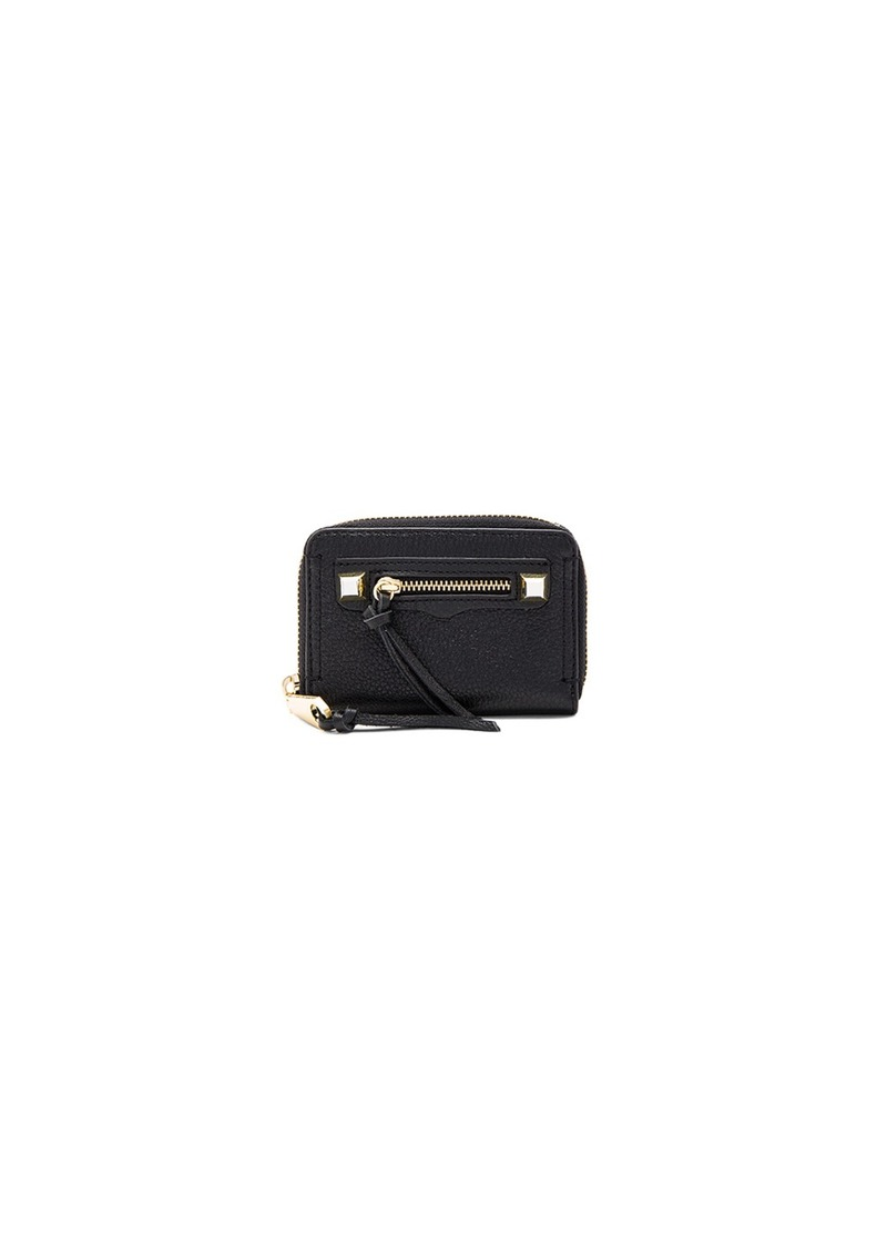 Rebecca Minkoff Mini Regan Zip Wallet