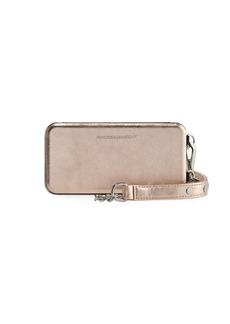 Rebecca Minkoff Mirrored Folio Phone Case for iPhone X