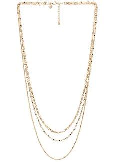 Rebecca Minkoff Multi Strand Beaded Necklace