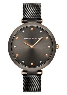 Rebecca Minkoff Nina Mesh Strap Watch, 33mm