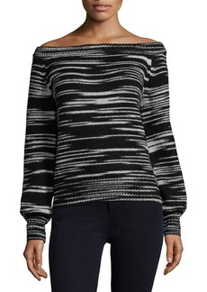 Rebecca Minkoff Off-The-Shoulder Sweater