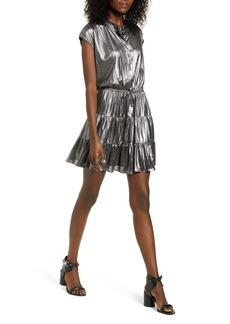 Rebecca Minkoff Ollie Metallic Minidress
