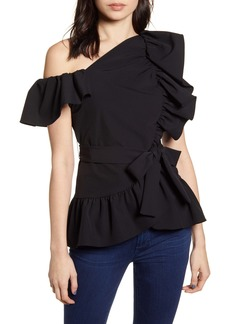 Rebecca Minkoff One-Shoulder Top