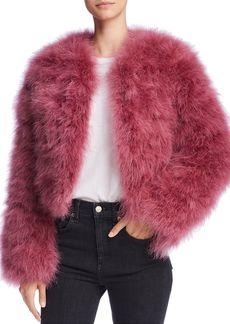 Rebecca Minkoff Pacha Feather Jacket