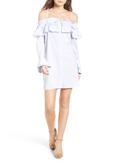 Rebecca Minkoff Pallas Off the Shoulder Minidress