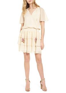 Rebecca Minkoff Pebble Blouson Minidress