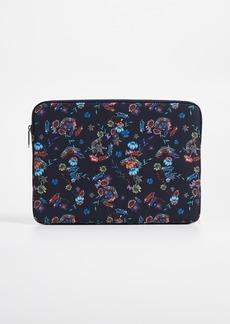 Rebecca Minkoff Printed Nylon Laptop Sleeve