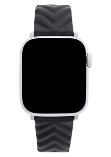 Rebecca Minkoff Quilted Leather Apple Watch® Strap