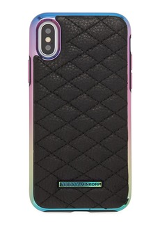 Rebecca Minkoff Quilted Love Oil Slick Phone Case for iPhone® X