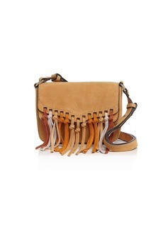 Rebecca Minkoff Rapture Multi-Tassel Small Suede Shoulder Bag
