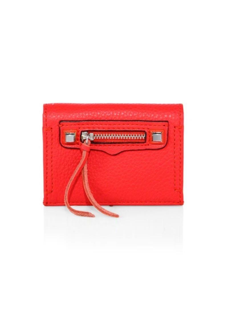 Rebecca Minkoff Regan Leather Card Case