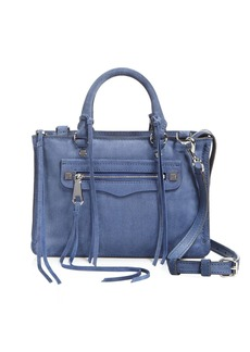 Rebecca Minkoff Regan Micro Suede Satchel - 100% Exclusive