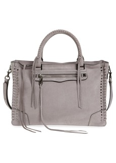 Rebecca Minkoff Regan Studded Leather Satchel