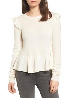 Rebecca Minkoff Regina Ruffle Wool & Cashmere Sweater