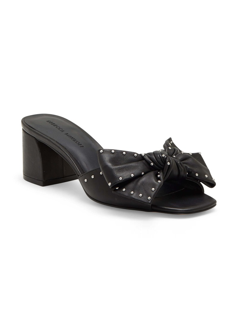 Rebecca Minkoff Rheta 2 Block Heel Slide Sandal (Women)