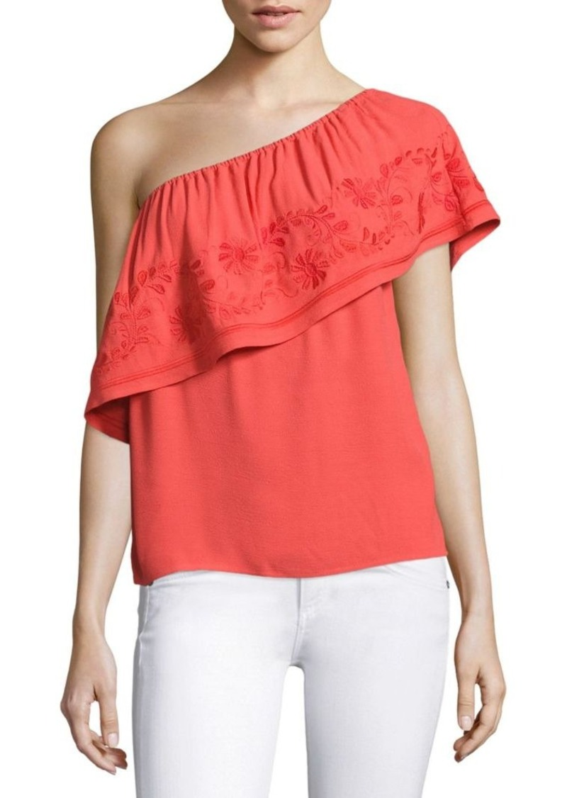 Rebecca Minkoff Rita One-Shoulder Top