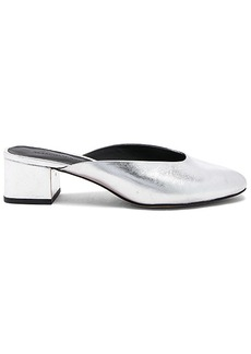 Rebecca Minkoff Robyn Mule in Metallic Silver. - size 6.5 (also in 6,7.5,8,8.5,9.5)