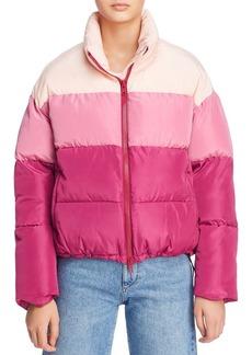 Rebecca Minkoff Rosie Color-Blocked Puffer Jacket