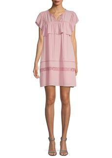 Rebecca Minkoff Ruffled Shirt Dress
