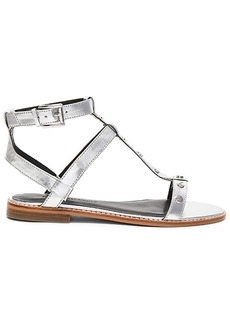 Rebecca Minkoff Sandy Sandal in Metallic Silver. - size 10 (also in 6.5,7.5)