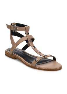Rebecca Minkoff Sandy Studded Leather Gladiator Sandals