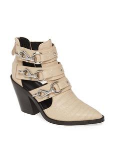 Rebecca Minkoff Seavie Clip Strap Bootie (Women)