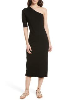 Rebecca Minkoff Shoshone One-Shoulder Midi Dress