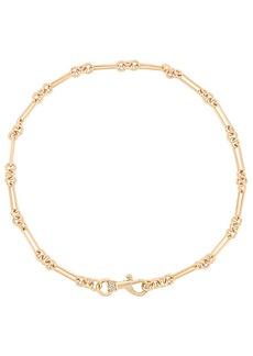 Rebecca Minkoff Signature Dog Clip Chain Necklace