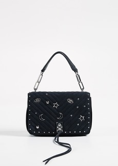 Rebecca Minkoff Small Becky Cross Body with Charm Studs