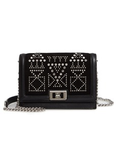 Rebecca Minkoff Small Dylan Studded Leather Crossbody Bag