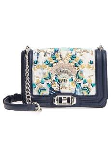 Rebecca Minkoff Small Embellished Love Crossbody Bag