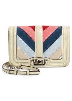 Rebecca Minkoff Small Love Chevron Patchwork Crossbody Bag