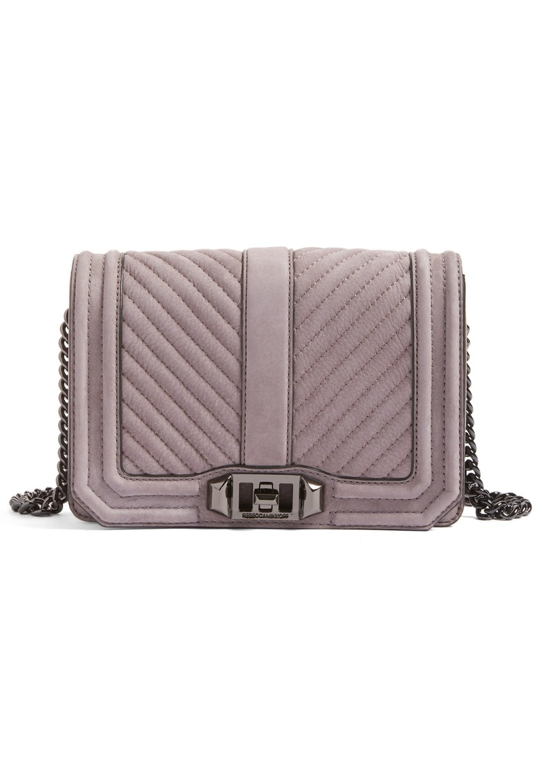 Rebecca Minkoff Small Love Nubuck Crossbody Bag (Nordstrom Exclusive) 75721fc382