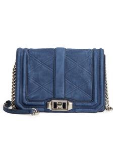 Rebecca Minkoff Small Love Nubuck Leather Crossbody Bag