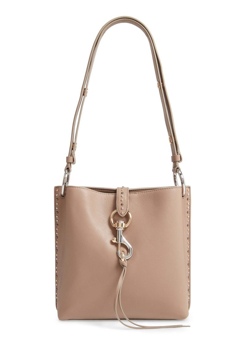 Rebecca Minkoff Small Megan Leather Shoulder Feed Bag