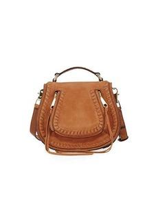 Rebecca Minkoff Small Vanity Whipstitch Saddle Bag