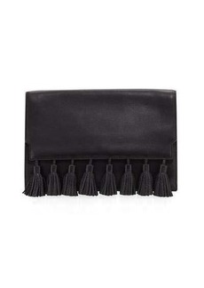 Rebecca Minkoff Sofia Tassel Leather Clutch Bag