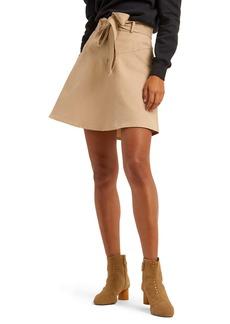 Rebecca Minkoff Stacy Belted Miniskirt