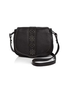 Rebecca Minkoff Stargazing Leather Saddle Bag