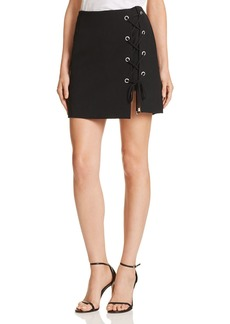 Rebecca Minkoff Stevia Lace-Up Detail Skirt