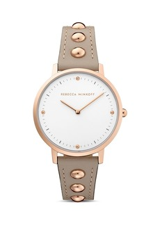 Rebecca Minkoff Studded Band Major Watch, 35mm