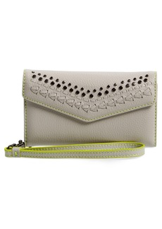 Rebecca Minkoff Studded Leather iPhone 7 Wristlet