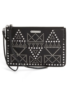 Rebecca Minkoff Studded Leather Wristlet