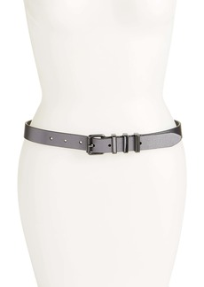 Rebecca Minkoff Suzy Metallic Leather Belt