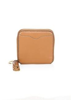 Rebecca Minkoff Tassel Trim Mini Leather Wallet