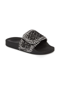 Rebecca Minkoff Tressa Woven Slide Sandal (Women)