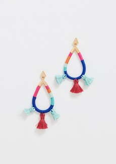 Rebecca Minkoff Tubular Wrapped Earrings