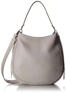 Rebecca Minkoff Unlined Convertible Hobo with Whipstich PUTTY