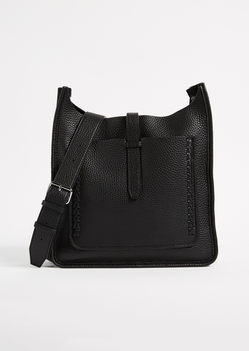 Rebecca Minkoff Unlined Feed Bag With Whipsching